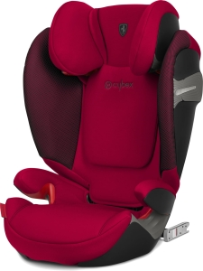 Cybex Solution S-fix - fotelik samochodowy 15-36 kg | Ferrari Racing Red