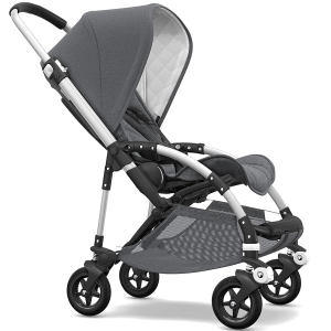 Bugaboo Bee 5 - Classic Collection - wózek spacerowy | Alu / Grey Melange