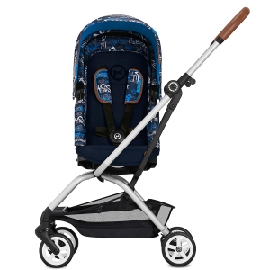 Cybex Eezy S Twist - obrotowy wózek spacerowy | Fashion Trust Blue
