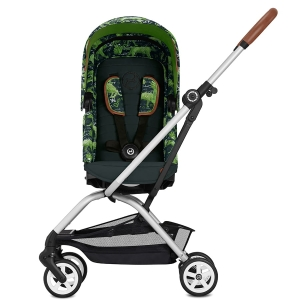 Cybex Eezy S Twist - obrotowy wózek spacerowy | Fashion Respect Green