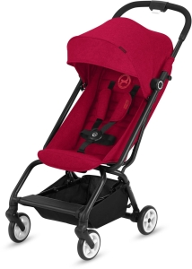 Cybex Eezy S - podróżny wózek spacerowy | Rebel Red