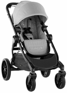 Baby Jogger City Select Lux - wózek spacerowy | Slate