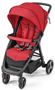 Baby Design Clever - wózek spacerowy | 02 Red