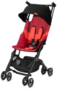 GB Pockit + All-Terrain - lekki wózek spacerowy | Rose Red
