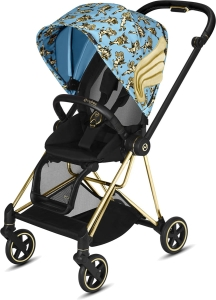 Cybex Mios 2.0 - wózek spacerowy | Cherub Blue by Jeremy Scott