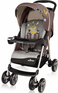 Baby Design Walker Lite - wózek spacerowy | 09 Brown