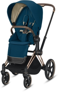 Cybex Priam 2.0 - wózek spacerowy | Mountain Blue