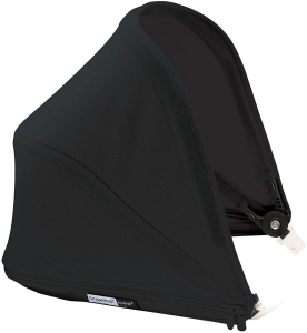 Bugaboo Bee5 Sun Canopy - budka do wózka | Core Black