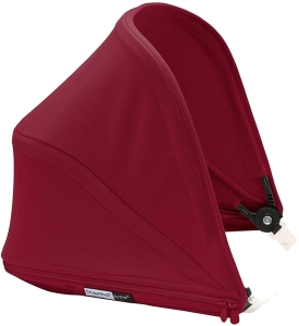 Bugaboo Bee5 Sun Canopy - budka do wózka | Core Ruby Red
