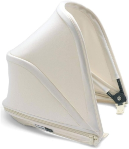 Bugaboo Bee5 Sun Canopy - budka do wózka | Core Fresh White