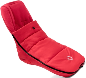 Bugaboo High Performace Footmuff - zimowy śpiworek do wózka | Neon Red