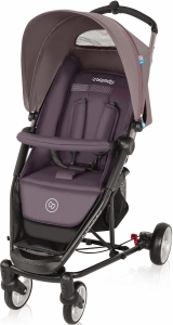 Baby Design Enjoy - lekki wózek spacerowy | 07 Purple Gray