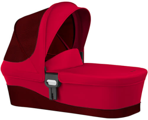 Cybex Cot M - gondola do wózka Balios M, Iris, Eternis, Agis | Rebel Red