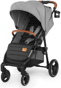 Kinderkraft Grande LX - wózek spacerowy | Grey