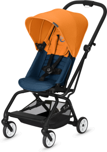 Cybex Eezy S Twist - obrotowy wózek spacerowy | Tropical Blue