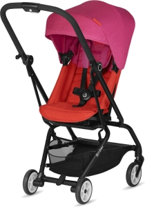 Cybex Eezy S Twist - obrotowy wózek spacerowy | Fancy Pink