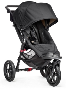 Baby Jogger City Elite - wózek spacerowy | Black