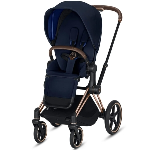 Cybex Priam 2.0 - wózek spacerowy | Indigo Blue