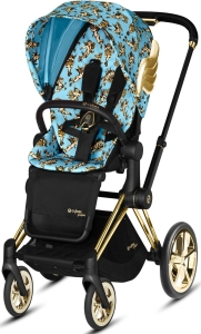 Cybex Priam 2.0 - wózek spacerowy | Cherub Blue by Jeremy Scott