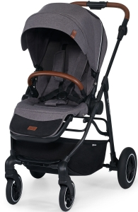 Kinderkraft All Road - wózek spacerowy | Ash Grey