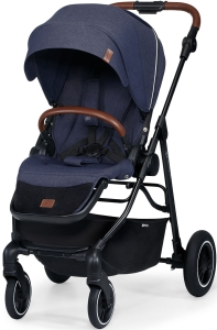 Kinderkraft All Road - wózek spacerowy | Imperial Blue