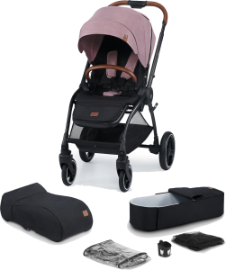 Kinderkraft Evolution Cocoon - Wózek spacerowy | Mauvelous Pink