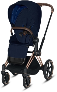 Cybex Priam 2.0 - wózek spacerowy | PLUS Midnight Blue