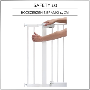 Safety 1st rozszerzenie 14 cm do bramek Easy Close, Auto Close