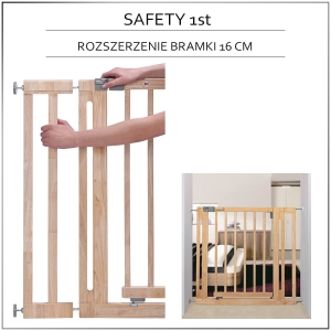 Safety 1st rozszerzenie 16 cm do bramki Easy Close Wood