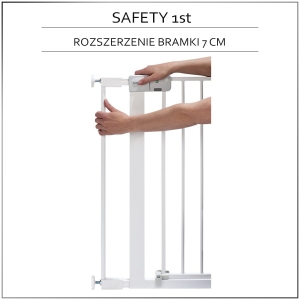 Safety 1st rozszerzenie 7 cm do bramek Easy Close, Auto Close