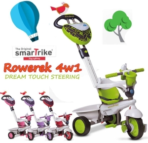 Smart Trike Rowerek 4w1 DREAM TOUCH STEERING