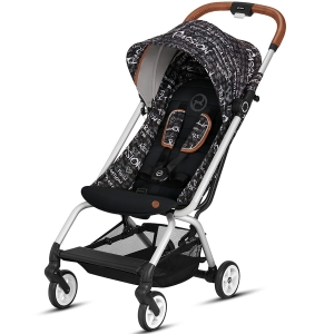 Cybex Eezy S - podróżny wózek spacerowy | Fashion Strength Dark Grey
