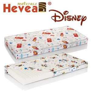 Materac piankowy Hevea Disney Junior kol. Mickey, Cars