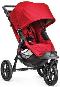 Baby Jogger City Elite - wózek spacerowy | Red
