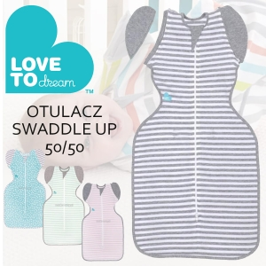 Love To Dream - Otulacz Swaddle UP 50/50 - etap 2 - 4-9 miesięcy