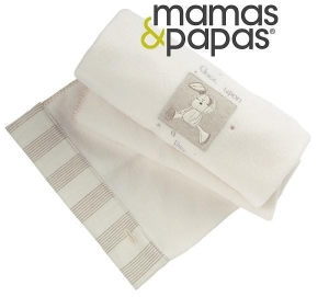 Mamas&Papas kocyk polarowy 120x160 Once Upon A Time