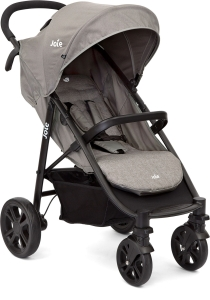 Joie Litetrax E-LIGHT - wózek spacerowy | Grey Flannel