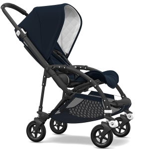 Bugaboo Bee 5 - Classic Collection - wielofunkcyjny wózek spacerowy - Black / Dark Navy