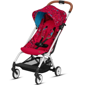 Cybex Eezy S - podróżny wózek spacerowy | Fashion Love Red