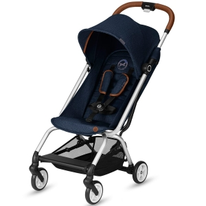 Cybex Eezy S - podróżny wózek spacerowy | Denim Edition Denim Blue