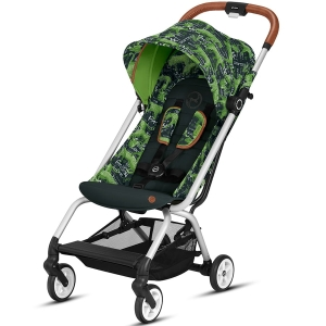 Cybex Eezy S - podróżny wózek spacerowy | Fashion Respect Green