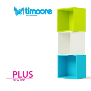 Timoore New Line Plus - regał COLOR BOX