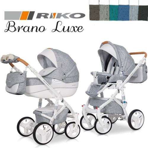 cf412a76a58038 Riko BRANO LUXE wózek wielofunkcyjny 2w1 z opcją 3w1 Ewozki.eu