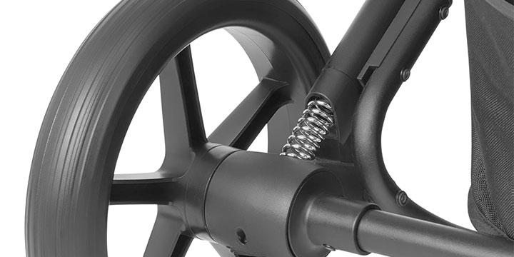 cybex balios s lux 005 - Cybex Balios S Lux - wózek wielofunkcyjny, zestaw 2w1 BLK kolor Deep Black