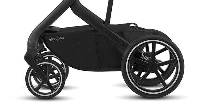 cybex balios s lux 006 - Cybex Balios S Lux - wózek wielofunkcyjny, zestaw 2w1 BLK kolor Deep Black