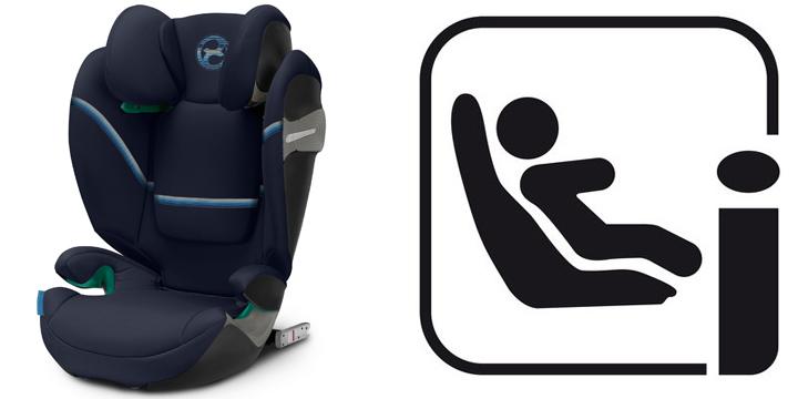 c01 - Cybex Solution S i-Fix - fotelik samochodowy 15-36 kg kolor Granite Black