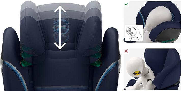 c03 - Cybex Solution S i-Fix - fotelik samochodowy 15-36 kg kolor Soho Grey