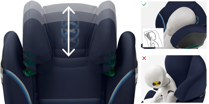 c03 - Cybex Solution S i-Fix - fotelik samochodowy 15-36 kg kolor Granite Black
