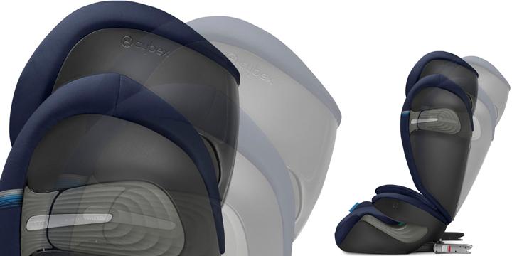 c04 - Cybex Solution S i-Fix - fotelik samochodowy 15-36 kg kolor Soho Grey