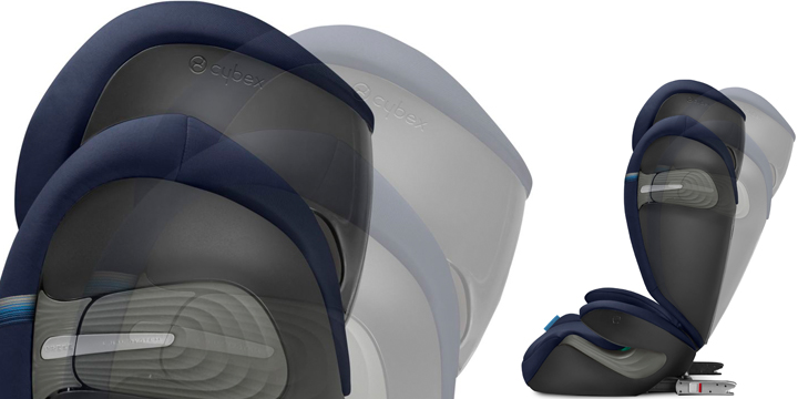 c04 - Cybex Solution S i-Fix - fotelik samochodowy 15-36 kg kolor Granite Black